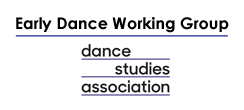Logo Early Dance Working Group DSA kl